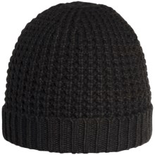 Rella Bad Intentions Beanie - Merino Wool Blend, Cashmere (For Men and Women) in Black - Overstock
