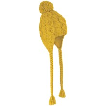 Rella Betto Ear Flap Hat - Fleece Lined (For Women) in Yellow - Closeouts