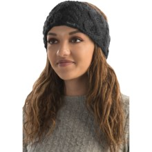 Rella Betto Headband - Merino Wool, Fleece Lined (For Women) in Black - Overstock