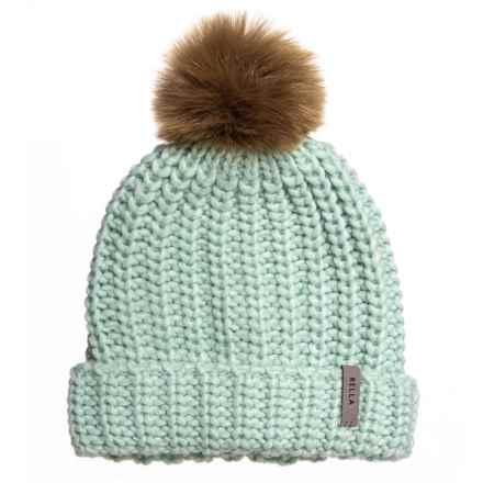 11fb87ef8be7f Rella Celadon Nostalgia Cuffed Beanie - Merino Wool (For Women) in Celadon