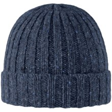 Rella Q Tweed Donegal Hat - Lambswool Blend (For Men and Women in Blue Tweed - Closeouts