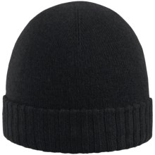 Rella The Haddock Beanie - Merino Wool-Cashmere (For Men and Women) in Black - Closeouts
