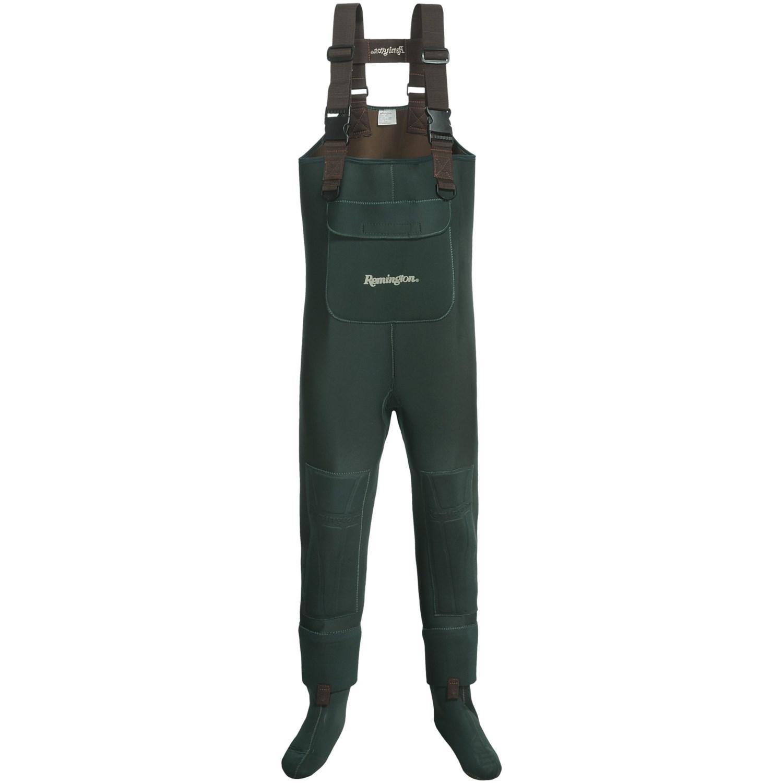 Remington chest waders neoprene stockingfoot xl for Men s fishing waders