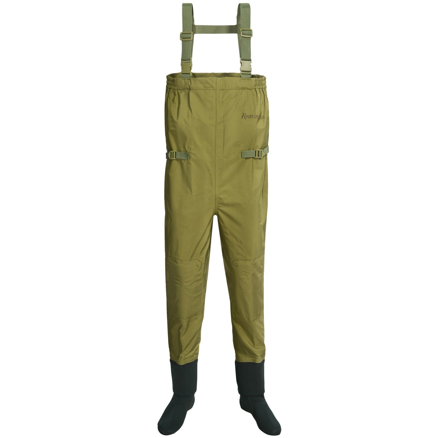 Remington stockingfoot chest waders size l fishing for Chest waders for fishing