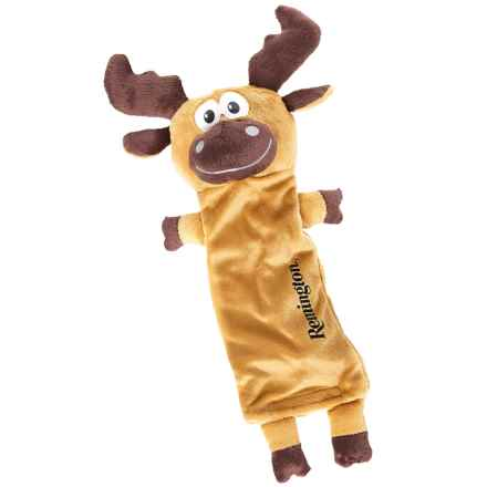 Remington Moose Water Bottle Dog Toy in Brown - Closeouts