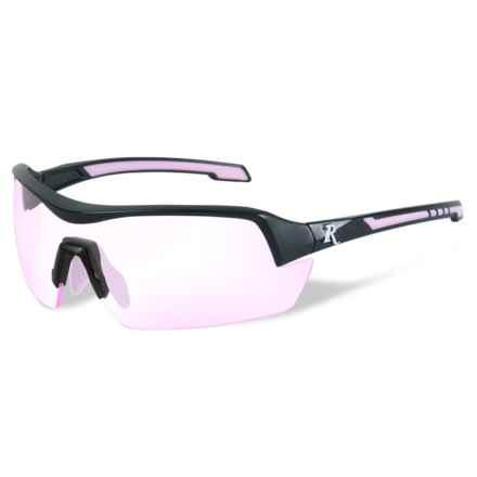 Remington Platinum Grade Protective Eyewear (For Women) in Clear Rose/Matte Black - Overstock