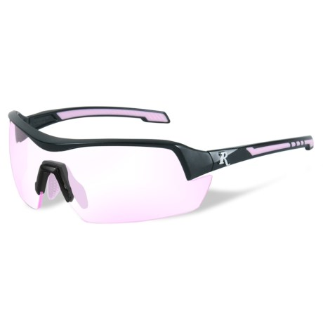 Remington Platinum Grade Protective Eyewear (For Women) in Clear Rose/Matte Black