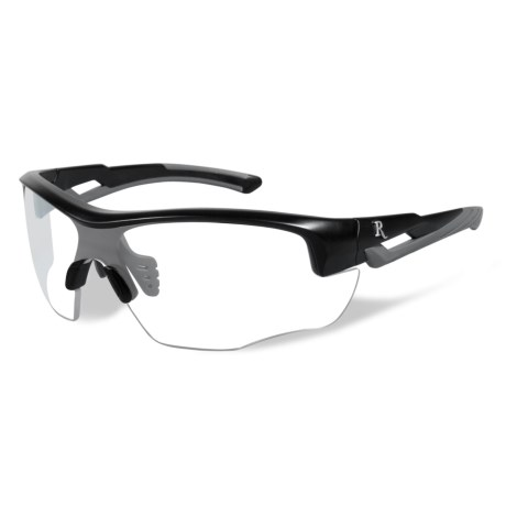 Remington Platinum Grade Protective Eyewear (For Youth) in Clear/Matte Black