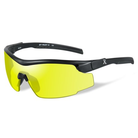 Remington Platinum Grade Protective Eyewear in Yellow/Matte Black
