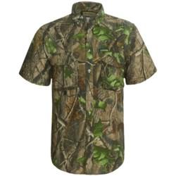 Remington Rem-Lite 2011 Shirt - Short Sleeve (For Men) in Realtree Hardwoods Green