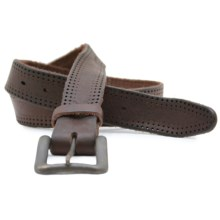 Remo Tulliani Dot Belt - Leather (For Men) in Brown - Closeouts