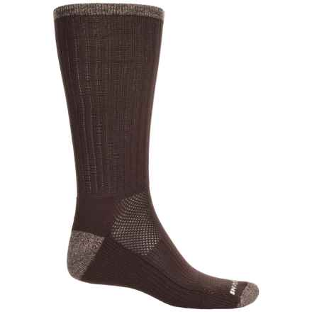 Remo Tulliani Midweight Socks - Crew (For Men) in Brown - Closeouts