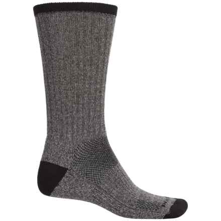 Remo Tulliani Midweight Socks - Crew (For Men) in Charcoal - Closeouts