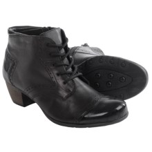 Remonte Adora 70 Ankle Boots - Leather (For Women) in Black/Black - Closeouts