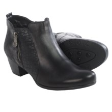 Remonte Adora 88 Ankle Boots - Leather (For Women) in Black - Closeouts
