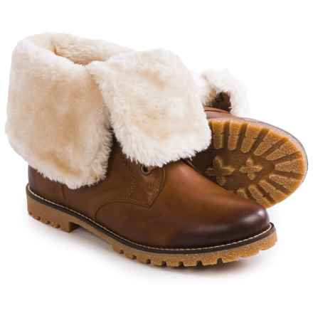 Remonte Alba 79 Snow Boots - Leather, Shearling Lining (For Women) in Brown - Closeouts