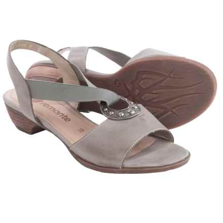 Remonte Doreen 56 Sandals - Leather (For Women) in Grey - Closeouts