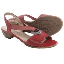 Remonte Doreen 56 Sandals - Leather (For Women) in Red - Closeouts