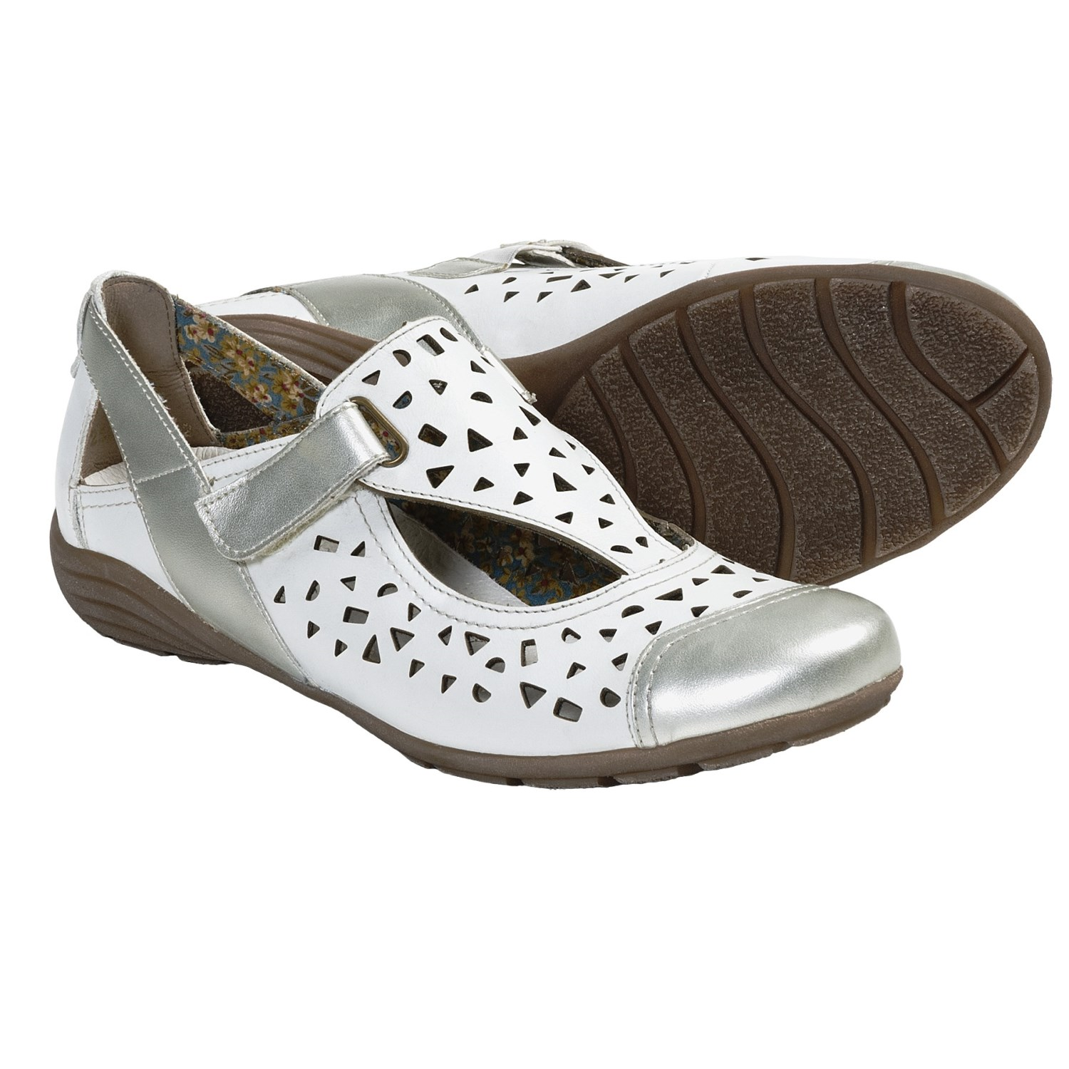 Remonte Dorndorf Dena 01 Shoes (For Women) in Silver/White