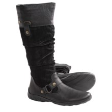 Remonte Dorndorf Liv Tall Boots (For Women) in Black - Closeouts