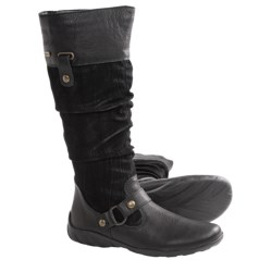 Remonte Dorndorf Liv Tall Boots (For Women) in Black