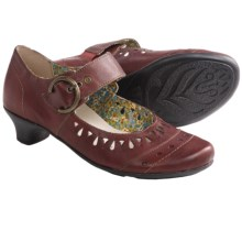 Remonte Dorndorf Milla 11 Shoes - Leather (For Women) in Burgundy - Closeouts