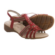 Remonte Elea 04 Sandals - Leather (For Women) in Red - Closeouts