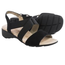 Remonte Elea 53 Sling-Back Sandals (For Women) in Black - Closeouts