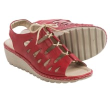 Remonte Gretchen 60 Sandals - Leather (For Women) in Red - Closeouts