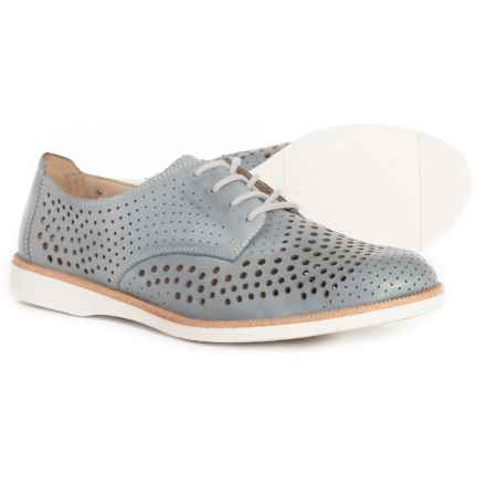 Remonte Kennya 03 Oxford Shoes - Leather (For Women) in Whitedenim
