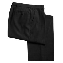 Rendezvous by Ballin Fine Twill Dress Pants - Wrinkle Resistant (For Men) in Black - Closeouts