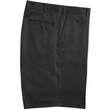 Rendezvous by Ballin Microfiber Shorts - Flat Front (For Men) in Black - Closeouts