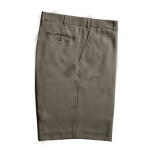 Rendezvous by Ballin Microfiber Shorts - Flat Front (For Men) in Taupe - Closeouts