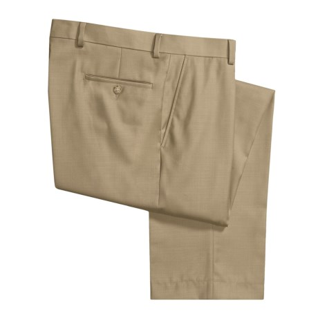 Rendezvous by Ballin Washable Wool-Twill Pants (For Men) in Khaki