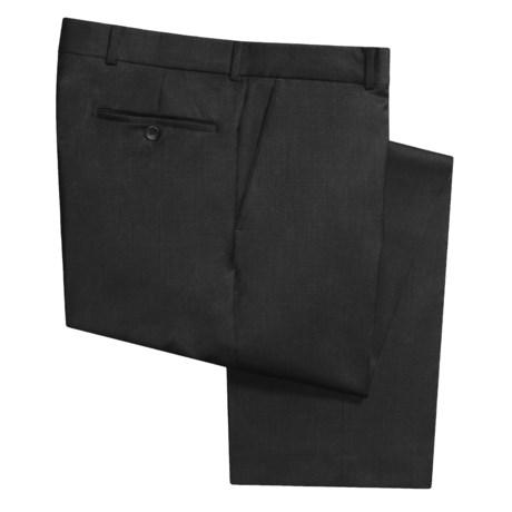 Rendezvous by Ballin Wool Gabardine Pants (For Men) in Black