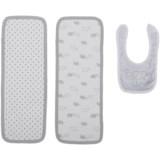 Rene Rofe Bib & Burp Cloth Set - 3-Piece (For Newborn)