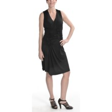 Renuar Stretch Jersey Dress - Sleeveless (For Women) in Black - Closeouts