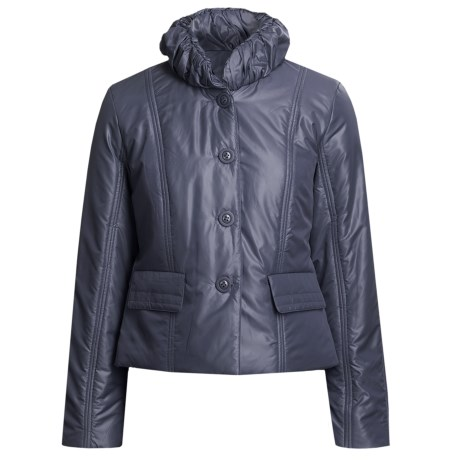 Renuar Travel Jacket - Insulated (For Women) in Ink