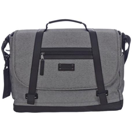 Renwick Messenger Bag in Gray