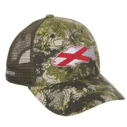 Rep Your Water Alabama Topocamo Trucker Hat (For Men) in Topocamo - Closeouts