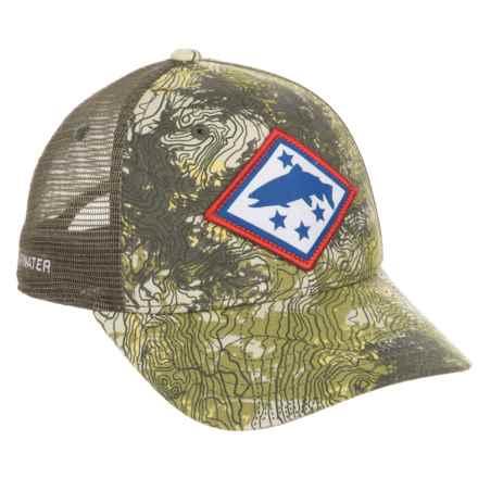 Rep Your Water Arkansas Topocamo Trucker Hat (For Men) in Topocamo - Closeouts