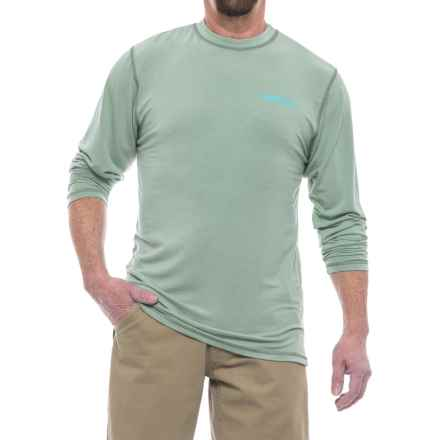 Rep Your Water Florida Redfish High-Performance T-Shirt - Long Sleeve (For Men) in Aqua - Closeouts