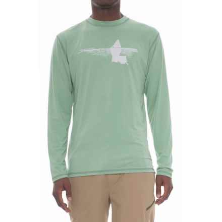 Rep Your Water Louisiana Tailer High-Performance T-Shirt - Long Sleeve (For Men) in Sage - Closeouts