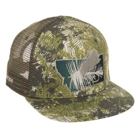 Rep Your Water Montana Stimi Trucker Hat (For Men) in See Photo - Closeouts