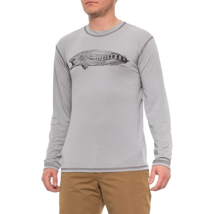 0224657d71fae Rep Your Water Salmon Streamer High-Performance T-Shirt - Long Sleeve (For