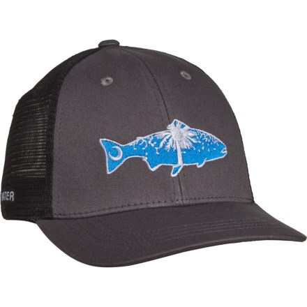 3d9e0e511d6bb Rep Your Water South Carolina Cold Water Trucker Hat (For Men) in Gray