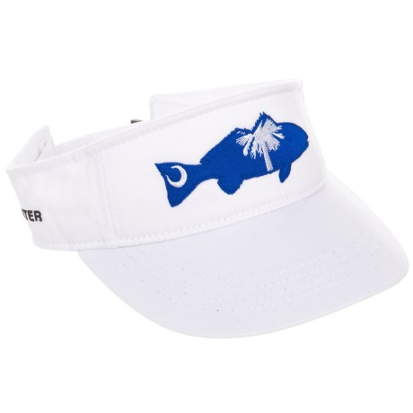 Rep Your Water South Carolina Visor (For Men) in See Photo