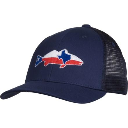 a6b60766b1c93 Rep Your Water Texas Trucker Hat (For Men) in Navy Navy