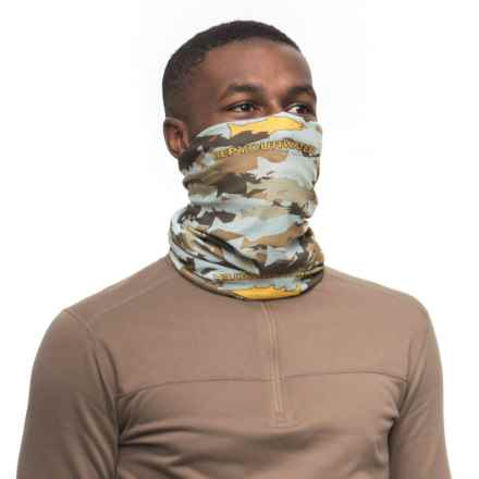 Rep Your Water Trout Camo Sun Shield Gaiter - UPF 15+ (For Men) in See Photo - Closeouts