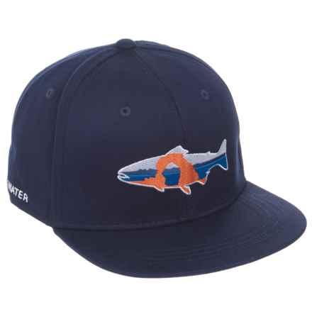 Rep Your Water Utah Baseball Cap (For Men) in Navy - Closeouts